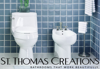 The Plumbing Place in Sarasota, FL has St. Thomas Creations Toilets & Bidets